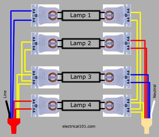 4lamp-led-dual-ended-series-ballast-lampholder-wiring-diagram  Lamp Ballast Wiring Diagram To Led on