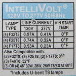 Lamp Compatibility Label