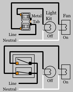 duplex switch wiring diagram