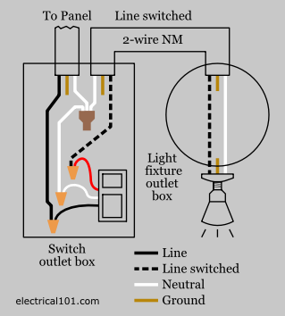 Photocell and Timer Wiring Diagram